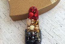 @Mix_jewels Instagram / Handmade jewelry - украшения ручной работы handmade jewelry