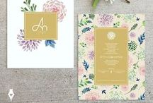 Wedding Invitation / Δείγματα από προσκλητήρια γάμου.
