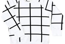 Grid / Grid pattern kids clothing