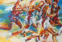 Art: Sports and sportsmen