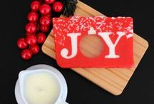 Happy Holidays! / Most of the holiday soaps you see featured are *seasonal,* meaning they only come around once a year. Peppermint products are around all the time, just visit us online at basin.com for your options.