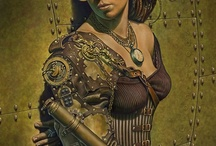 ILLUSTRATIONS STEAMPUNK / by Martine Carnez