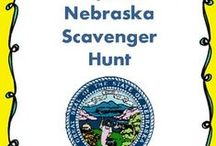 Nebraska for Kids / Full of worksheets and interactive ideas to learn more about the great state of Nebraska