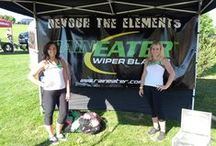 RainEater Girls / Meet the RainEater Girls and Learn more about RainEater Wiper Blades. Come Visit Us After the Races!