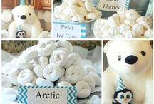 SnowFlake & Polar Bear Party