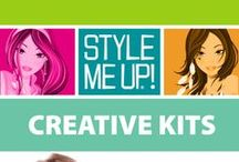 ❤ STYLE ME UP ❤ CREATIVE KITS ❤ / With Style Me Up Creative Kits you can create and personalize your own jewelry, fashion accessories, and so much more! Be fashionably creative!