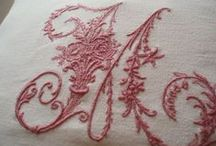 embroidery ALPHABETS