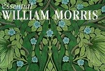 WILLIAM MORRIS 1834-1896 / art and textile design