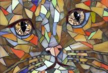 MOSAICS*** / creating art items with mosaics and tiles