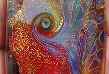 GLASS ARTISTRY /  These pins are here to share  and enjoy - happy pinning