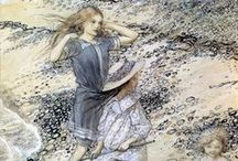 artist: ARTHUR RACKHAM / Illustrations, drawing, painting and design