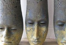CLAYS  TRADITIONAL / CERAMICS,  SCULPTURE, RAKU, POTTERY -