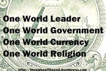 NEW WORLD ORDER , UNITED NATIONS & ONE WORLD GOVERNMENT /  Plans to form a ONE  WORLD GOVERNMENT, ONE WORLD MONETRY SYSTEM and ONE COMBINED RELIGION are pretty far advanced -