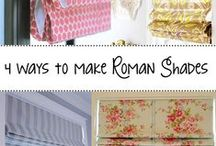 Window Coverings / Wonderful Ideas for You to Create Your Own Window Coverings!