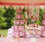 Baby Shower / The pink color's nuance for celebrating Eva's special day