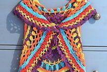 Pletení + háčkovaní (knitting + crochet)