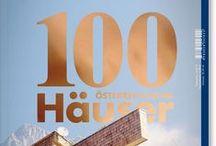 """100 ÖSTERREICHISCHE HÄUSER / Bauen ist eine Gemeinschaftsarbeit zwischen Architekt und Bauherr. Was entstehen kann, wird über das gegenseitige Verständnis definiert. Das Magazin """"100 Häuser"""" zeigt deswegen ganz bewusst ein breites Spektrum realisierter Häuser. Es soll und darf vorzeigen, was möglich ist. Es ist eine Lobeshymne an die Qualität österreichischer Architekturproduktion—und eine direkte Empfehlung an zukünftige Bauherren, mit Architekten zu planen."""