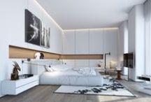Habitaciones con estilo. / Decoración de habitaciones de diferentes estilos.