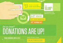 Fundraising Infographics / Interesting bits for nonprofits doing fundraising