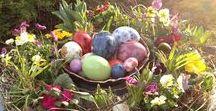 Ostern - Eastern Eggs / Alles rund um Ostern: Dekoideen, Rezepte, Hasen, Küken, Osterbrote, Osterbräuche, Osterkränze, Basteln, Frühlingsboten.