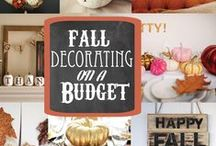 Fall Decor & Creations / This board has many great fall decor ideas. You can get inspiration from the pictures and re-create them for your home, or pick some of the DIY fall decor to make and create to fit your style.