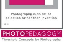Threshold Concept 4 / Resources to support discussion of TC4: Photography is an art of selection rather than invention