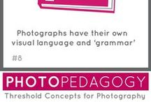 Threshold Concept 8 / Resources to support discussion of TC8: Photographs have their own visual language and 'grammar'