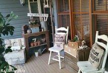 Porch Goodies / A collection of porch ideas!