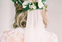 b r i d a l  h a i r s t y l e s / beautiful and elegant bridal hairstyles
