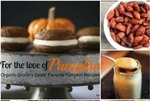 For the Love of Pumpkin / All things pumpkin - our fall favorite!