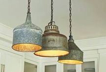 Let There Be Lights / Creative lighting fixtures / by Paulette Morris
