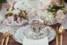 Wonderland Tea Parties / Alice in Wonderland tea party event inspiration using decor, fashion and floral.  For the Wonderland Bridal shower, ladies luncheon, or birthday!