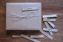 Pretty packaging / Packaging and gift wrapping ideas