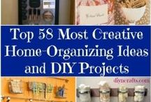 Homes - DIY Projects / Give your home a new look indoors and outdoors with decorating or home improvement projects you can tackle.....or get a handy man to help you with.