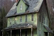 Abandoned /  Houses and places they are old - could be haunted - scary - creepy - but I love them