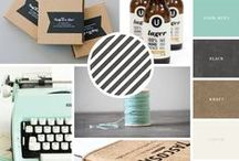 Colour inspiration & Moodboards