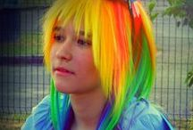 Rainbow Dash cosplay - by Purantan / cosplayer: Purantan | photographer & photo editor : pearlANDblood