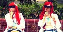 Test Sisters cosplay  - Johnny Test /  Susan Test: Purantan | Mary Test: by pearlANDblood (me) | Photographer: Regina
