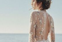 Boho Bride / Relaxed, minimalist, bohemian, natural, flowing