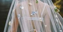 Veils / The full stop for your wedding dress is the veil