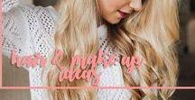 Hair & Make up Ideas / Ladies Hair & Make up Ideas.  beauty, beauty & fashion, fashion, ladies hair ideas, hairstyles, hair tutorials, make up, ladies make up ideas,