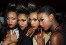 Noir Beauty Inspiration / Make up looks for brown skin.