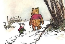 aamilne / Anything to do with aa milne / by Trish Nonaka