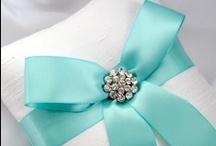 Aqua tiffany wedding