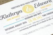 Wedding Invitation / wedding invitation full of love