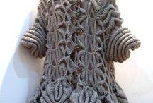 Wearable art. Knitting