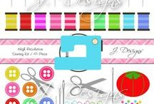 sewing clipart images