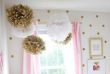 The Girls Bedroom / Ideas for Girls bedroom decor. / by Darcel {The Mahogany Way}