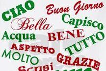 Italian Greetings  (Italia saluti) / Buonanotte, Buongiorno, Ciao, Buon Natale / by Thérèse