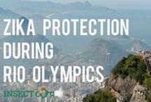 Zika protection during Rio 2016 / Know how to protect yourself from Zika virus if you are heading to Rio Olympics in Brazil by reading out top tips: http://insectcop.net/protect-yourself-against-zika-virus-during-the-rio-olympics-in-brazil/